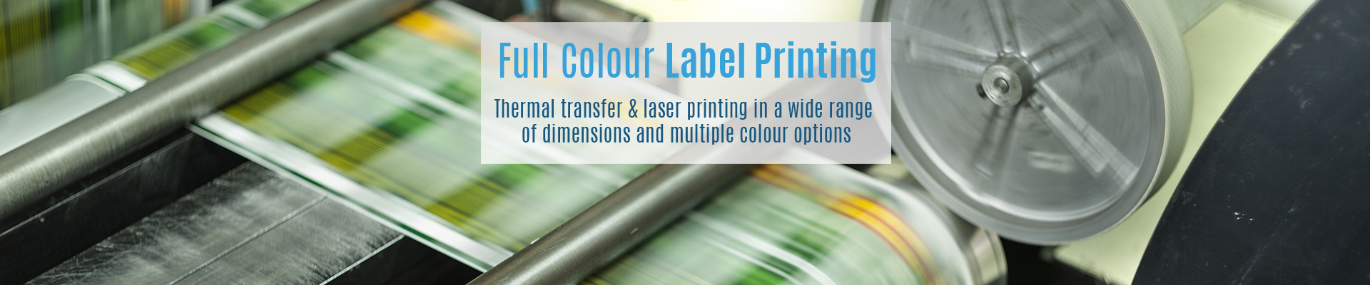 Full Colour Label Printing